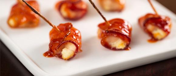 Bacon-Wrapped Buffalo Chicken Bites
