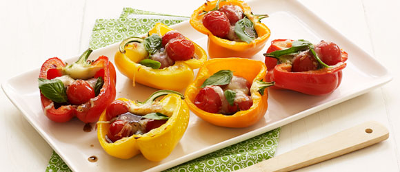 Grilled Summer Fresh Peppers