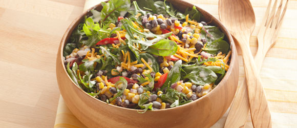 Spicy Southwest Bean & Corn Salad