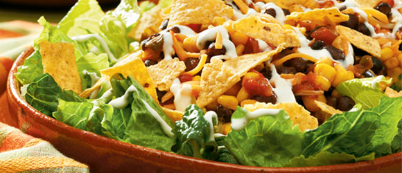10-Minute Layered Southwest Salad