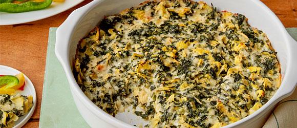 Savory Spinach-Artichoke Dip