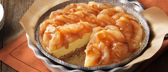 Apple-Caramel Sundae Tart