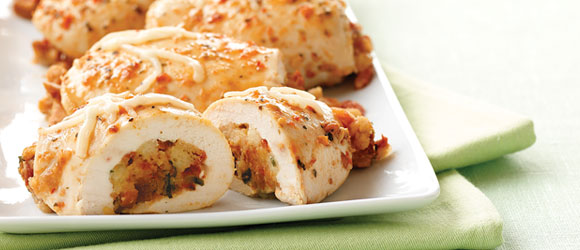 How To Make Stuffed Chicken Breasts My Food And Family