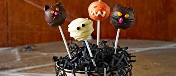 Halloween Monster Cookie Balls