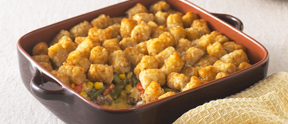 TATER TOT-Topped Casserole