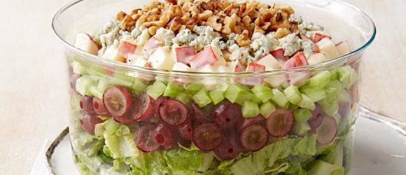 Waldorf Layered Salad