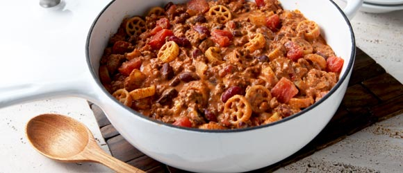 Cheesy Chili for a Crowd