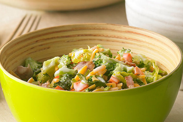 Garden Vegetable Chopped Salad