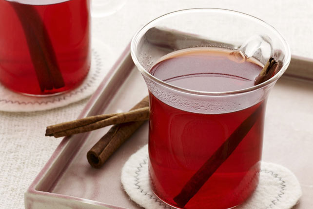 Cherry Pomegranate Mulled Cider