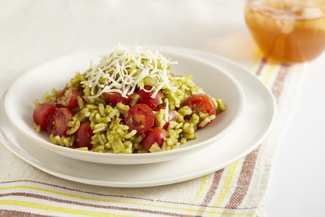 Fresh Tomato-Herb Rice