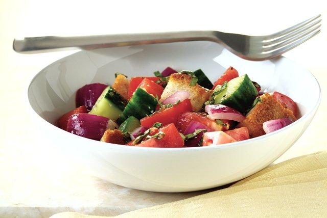 Italian Tomato Bread Salad