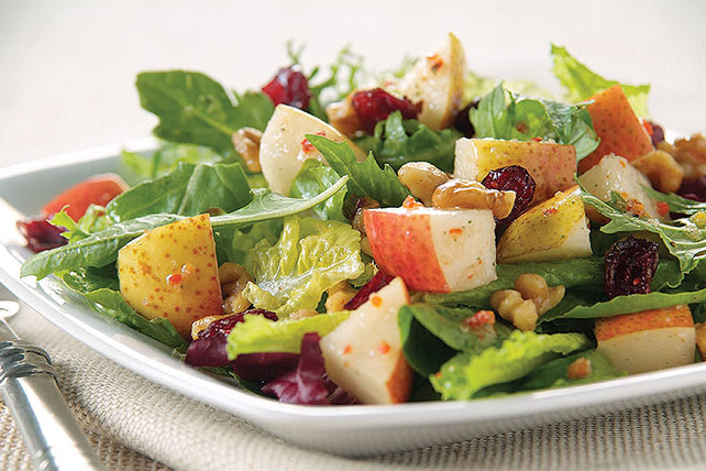 Sweet Cranberry & Pear Tossed Salad