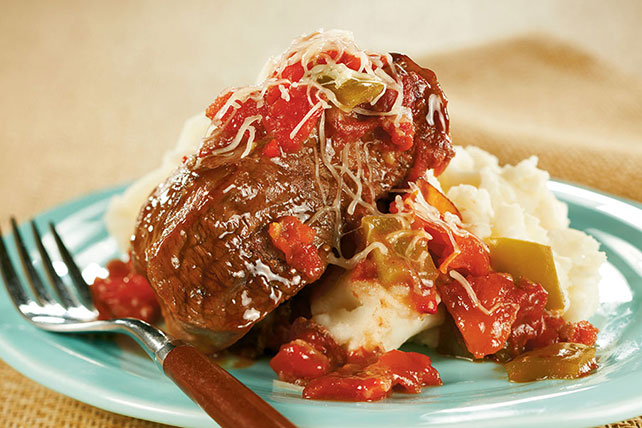 Slow-Cooker Saucy Swiss Steak