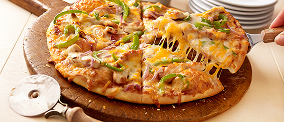California-Style Barbecue Chicken Pizza