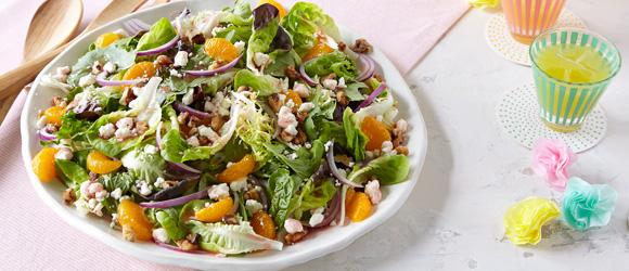Fabulous fruit feta salad