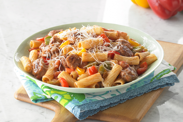 Sausage And Peppers Dinner Menu
