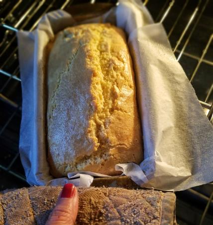 Low-Carb Almond Flour Pound Cake