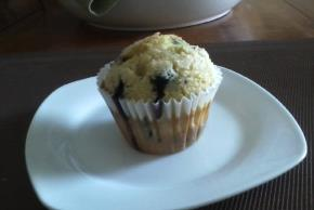 Jumbo Blueberry-Lemon Muffins