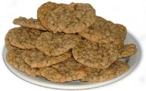 Peaches N Cream Oatmeal Cookies