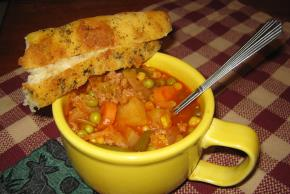 Hearty Homemade Vegetable Soup