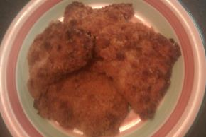 Sun-Dried Tomato Oven Fried Pork Chops