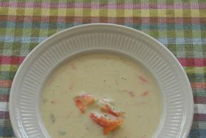 Quick Cream of Seafood Soup