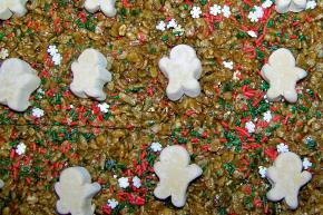 Gingerbread Mallow Krispies