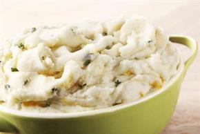 Mashed Potatoes (Sour Cream & Dill)