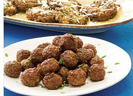 Greek Keftedakia (Meatballs)