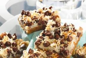 Mom's EASY No-Name Chocolate Chip Bars