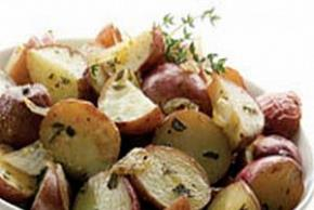 Roasted Red Potatoes with Herbs