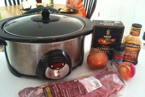 Bar-B-Que Ribs Crock-Pot Style