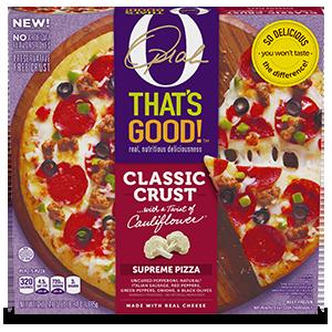 Image result for oprah cauliflower pizza