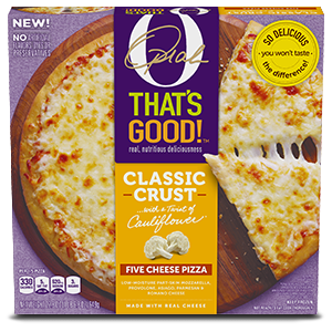 O, That's Good! Frozen Five Cheese Pizza 22.8 oz, Carton
